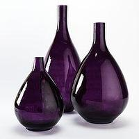 Decor/Accessories - Reiner Vases - violet glass vases