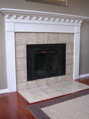 tile fireplace designs pictures. Sep design feature in beige,