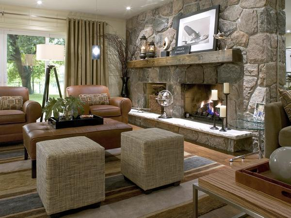 Candice Olson Living Rooms - Country - basement - Candice Olson