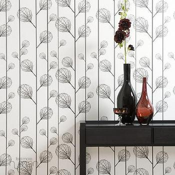 Ferm Living, Ribbed Wallpaper, Wallpaper, Living Green & Modern