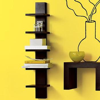 Decor/Accessories - spine wall shelf | west elm - wall shelf