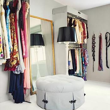 Dressing Room Mirror, Contemporary, closet