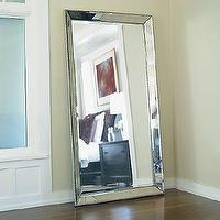 Mirrors - Venetian Beaded Leaner Mirror - Floor Mirro