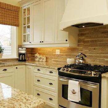Ivory Kitchen Cabinets, Transitional, kitchen, Jennifer Brouwer Design