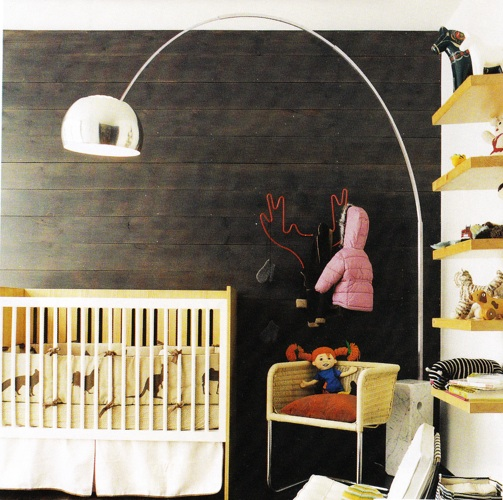 Boy Nursery Wood Wall