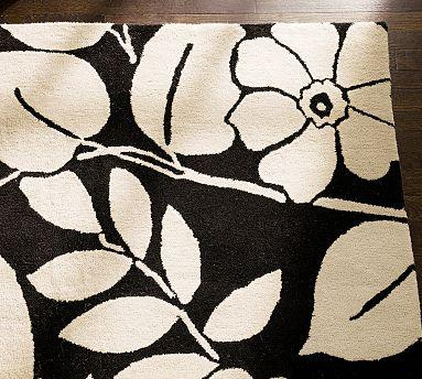 Floral rug runner rugs sale for Pottery barn carpet runners