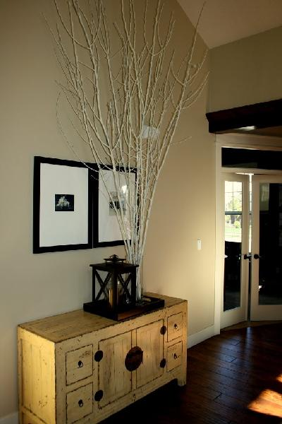 Asian Cabinet - Transitional - entrance/