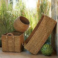Decor/Accessories - braided storage | west elm - baskets