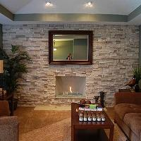 living rooms - stone, fireplace, brick wall, brick accent wall, brick living room, brick living room ideas, brick fireplace wall, brick fireplace,