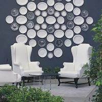 decks/patios - plates, decor, viceroy, decorative plates, wall decorative plates, decorative plates for wall, white decorative plates, white decorative plates for wall, decorative wall plates,