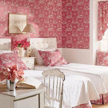 girl's rooms - pink room, pink girl room, pink girls room, pink girl bedroom, pink girls bedroom, little girl pink room, little girl pink bedroom, little girls pink room, little girls pink bedroom, white and pink girls room, beadboard, beadboard in kids room,