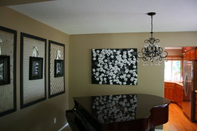Dining Room Ideas On Rooms Frames Wall Art Frame Idea