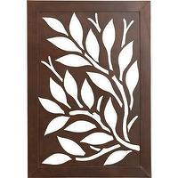 Art/Wall Decor - Leaf Wall Art - wall art, Crate & Barrel