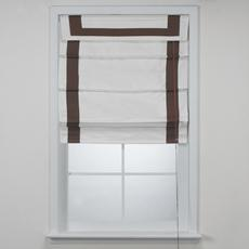 Window Treatments - Bed Bath & Beyond - Dublin Hotel Chocolate Roman Shades - roman shade