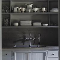 kitchens - gray, cabinets, kitchen, gray kitchen cabinets, gray cabinets, gray kitchen,  Gray Kitchen  Beautiful gray kitchen cabinets and built-ins: