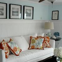 Living Room Beadboard Walls Design Decor Photos