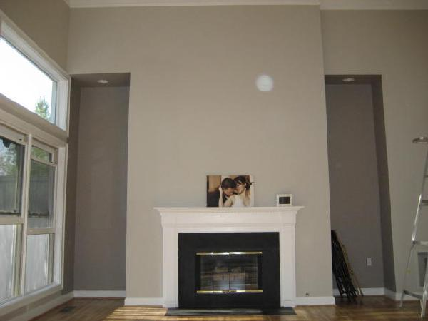 Living Room - Sherwin Williams Modern Gray