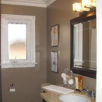 Wallpaper - bathrooms - vintage art, bathroom, taupe paint, taupe paint colors, taupe paint color, taupe walls, taupe bathrooms,  Work in progress