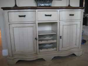 Gorgeous Two Toned Sideboard
