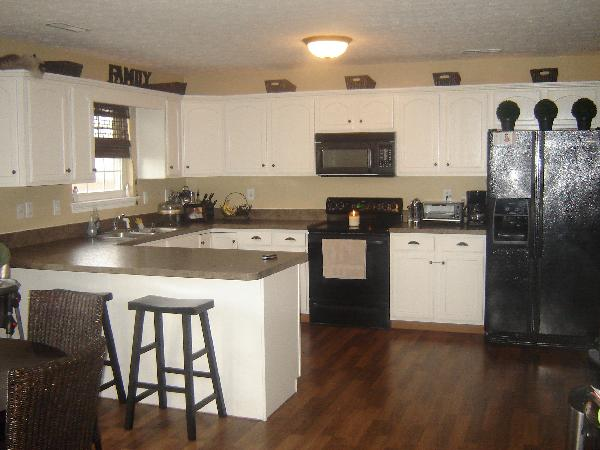 pictures of kitchens with painted cabinets