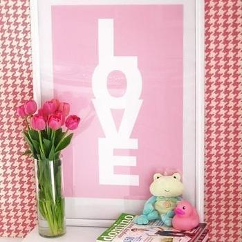 Art/Wall Decor - Etsy :: LOVE CANDY - Cotton Candy (Screen Printed) (ON SALE) - love, print, art