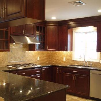 Cherry KItchen Cabinets, Traditional, kitchen