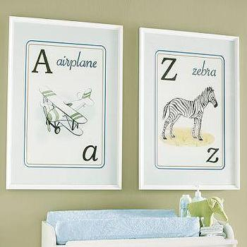Pottery Barn Kids, A & Z Art