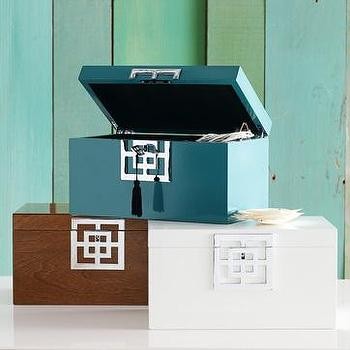Decor/Accessories - lux jewelry box | west elm - jewelry box