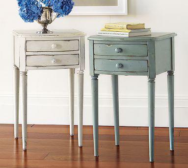 charlotte bedside table pottery barn. Black Bedroom Furniture Sets. Home Design Ideas