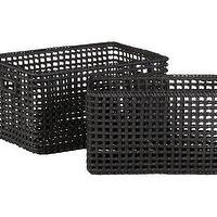 Decor/Accessories - Crate and Barrel - Marikina Totes shopping in Crate and Barrel Baskets - baskets