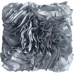 Ruffle Pillow, Smoke