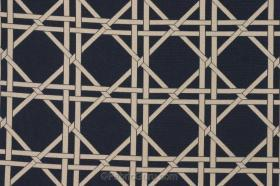 Fabrics - Fabric Guru.com: Fabric, Discount Fabric, Upholstery Fabric, Drapery Fabric, Fabric Remnants, wholesale fabric, fabrics, fabricguru, fabricguru.com, Waverly, P. Kaufmann, Schumacher, Robert Allen, Bloomcraft, Laura Ashley, Kravet, Greeff. - Fabric by the Yard :: Waverly Garden Lattice Woven Reversible Drapery or Upholstery Fabric in Indigo $6.95 per yard - fabric