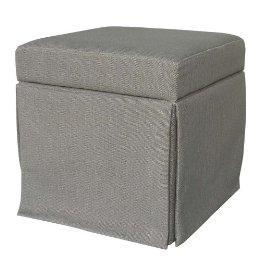 Seating - Storage Ottoman - Gray : Target - ottoman
