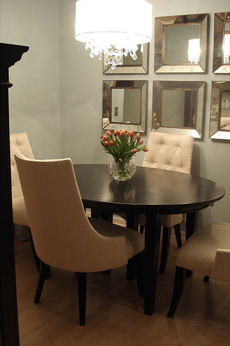 Oval Dining Table - Transitional - dining room - Benjamin ...