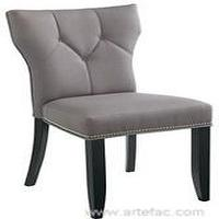 Seating - Linen Fabric Parsons Chair SR-32316 - chair