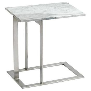 Tables - Dell Marble Side Table - side table