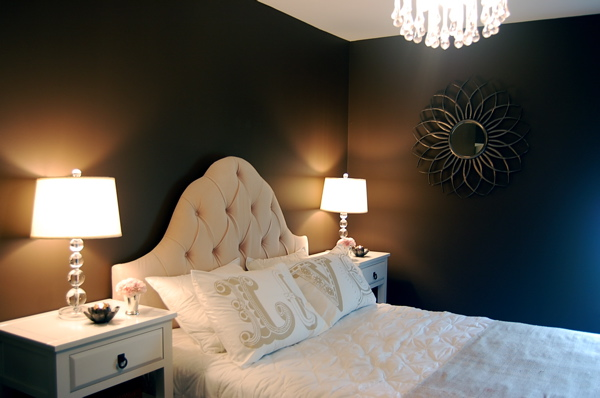 The Toulouse Arched Velvet Tufted Headboard By Skyline
