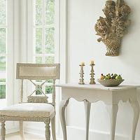 entrances/foyers - table, chair,  nice  french chair and table