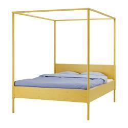 IKEA - Beds - King, Queen and Full bed frames - HEMNES - Four-poster bed frame