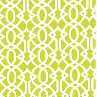 Fabrics - Tonic Living,Garden Trellis, Lime,100% Combed Cotton,Retro futon covers, retro fabric and pillows - imperial tresllis fabric