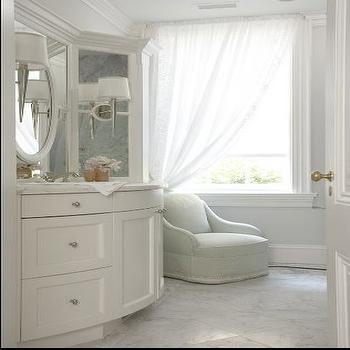 Bow Front Washstand, Traditional, bathroom