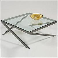 Tables - Johnston Casuals 19-155 - Java Contemporary Cocktail Table - coffee table