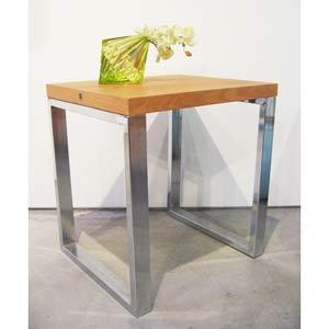 Tables - Modern End Table in Accent Tables from Bellacor - side table