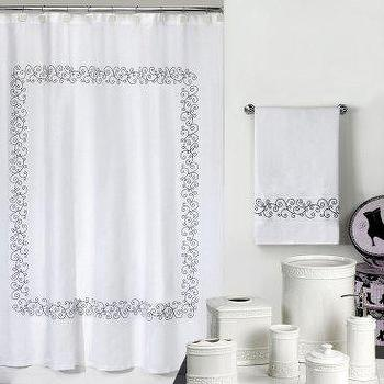 Bath - Cosmopolitan Shower Curtain - Shower Curtains at Shower Curtains Galore - shower curtain