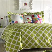 Bedding - Blissliving Home Kew Green Duvet Collection - Kew Green Duvet Collection - bedding