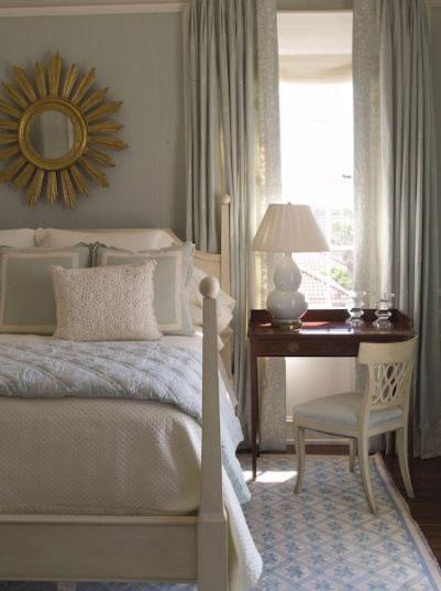 Cream Bedside Tables: Desk As Bedside Table