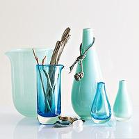 Decor/Accessories - beach glass vases | west elm - beach glass vases