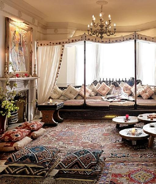 Living room - Moroccan living room design ...