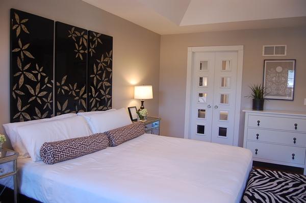 Greige Paint Eclectic Bedroom Benjamin Moore Revere