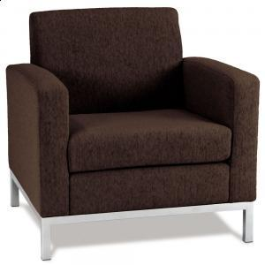 Park Avenue Armchair In Chocolate Color, Arm Chairs, Living Room